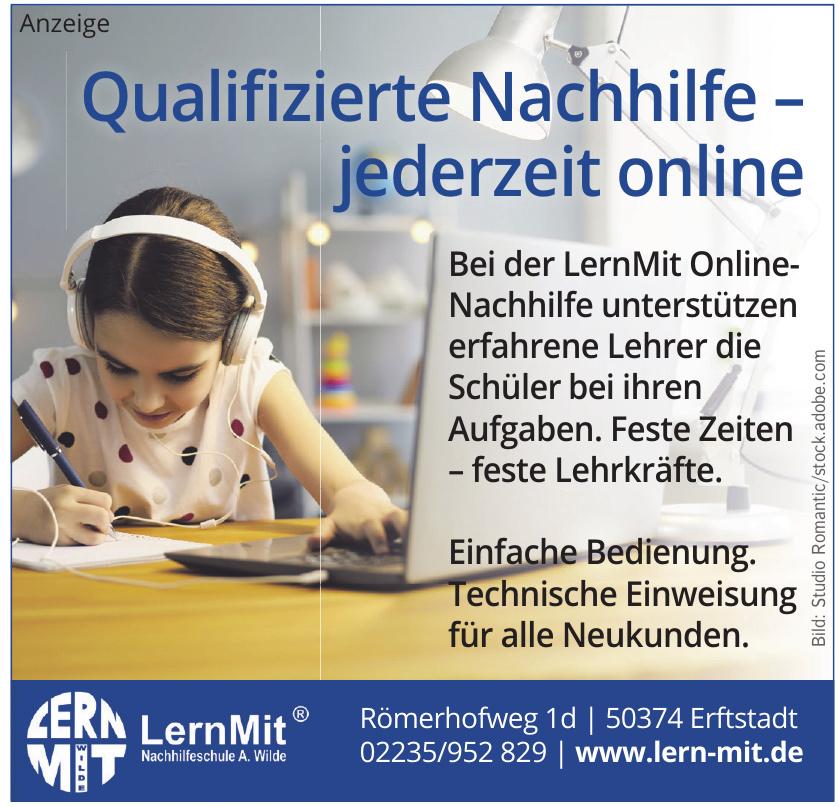 LernMit Nachhilfeschule A. Wilde
