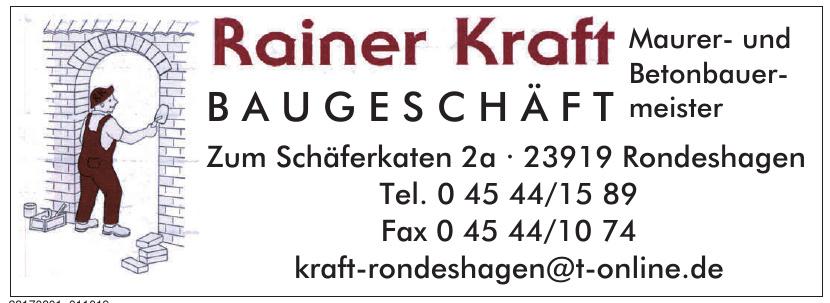 Rainer Kraft Baugeschäft