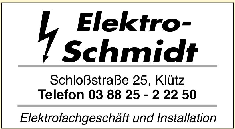 Elektro-Schmidt