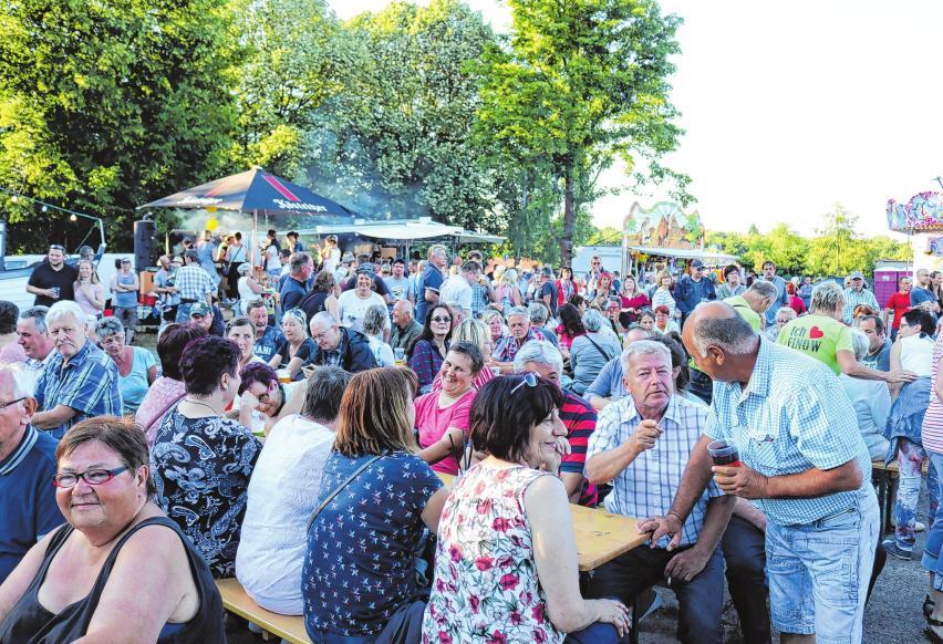Gut besuchtes Sommerfest im letzten Jahr.       Fotos: Stadtteilverein Finow