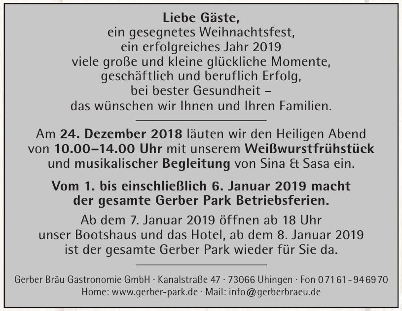Gerber Bräu Gastronomie GmbH