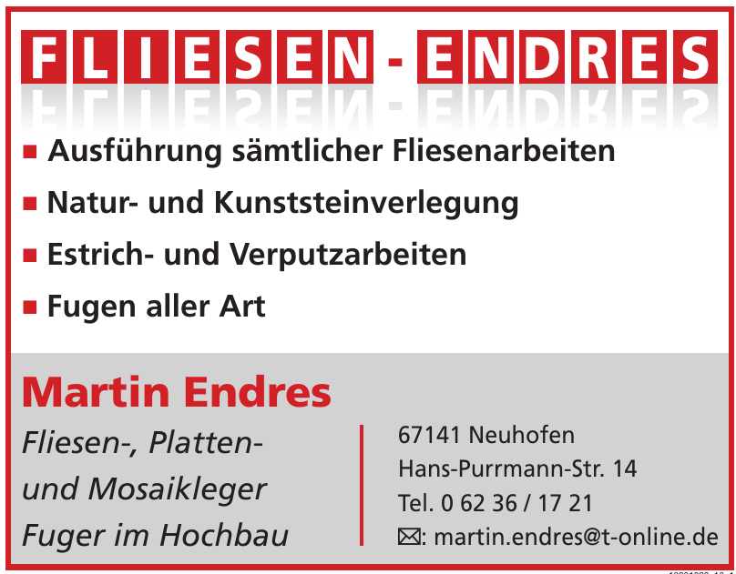 Martin Endres