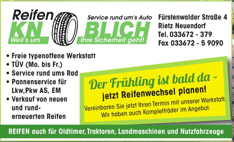KN Blich - Reifen