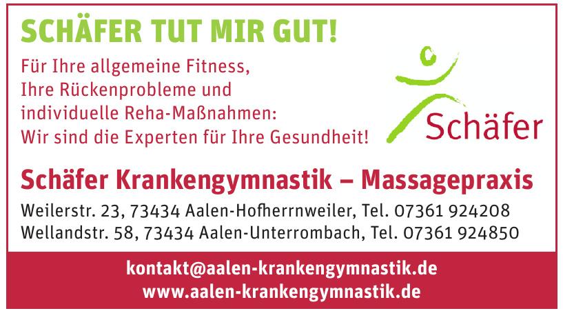 Schäfer Krankengymnastik – Massagepraxis