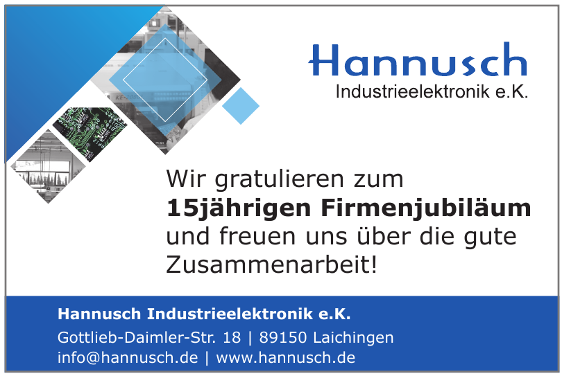 Hannusch Industrieelektronik e.K.