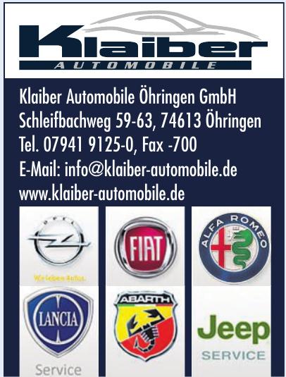 Klaiber Automobile Öhringen GmbH