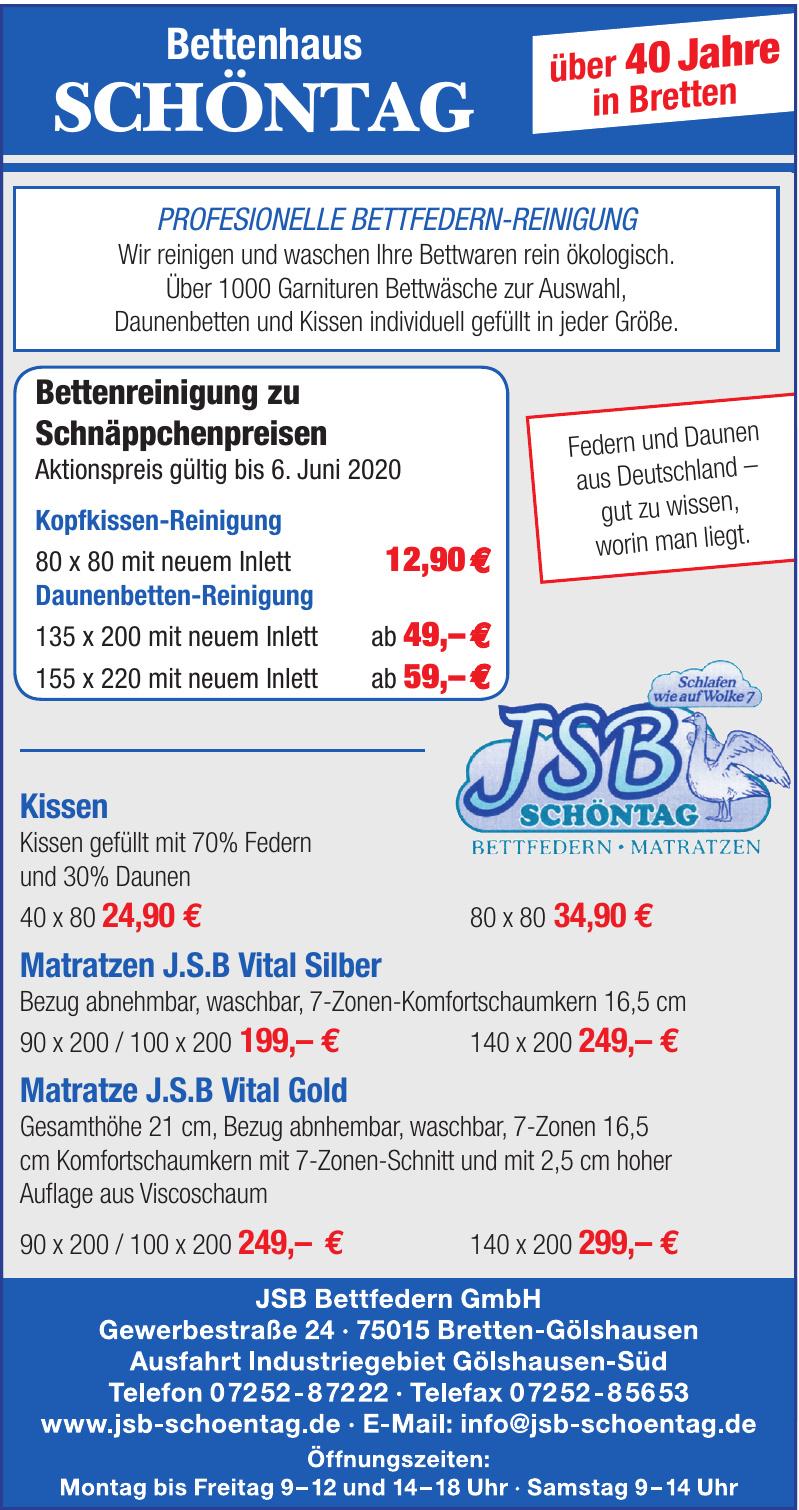 JSB Bettfedern GmbH