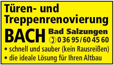 Türen- und Treppenrenovierung Bach