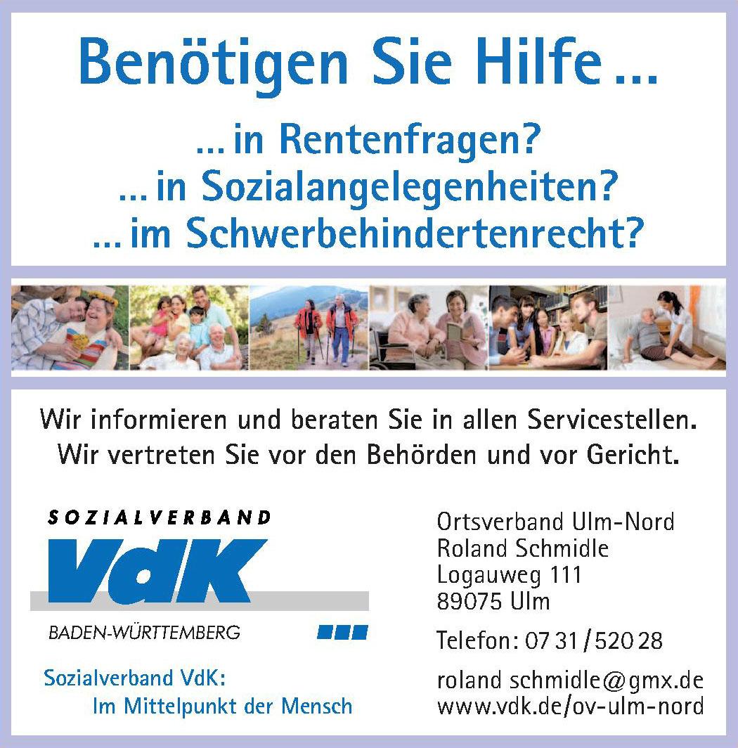 Sozialverband VdK Baden-Württemberg