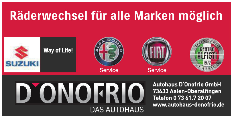 Autohaus D'Onofrio GmbH