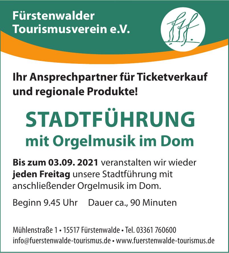 Fürstenwalder Tourismusverein e.V.