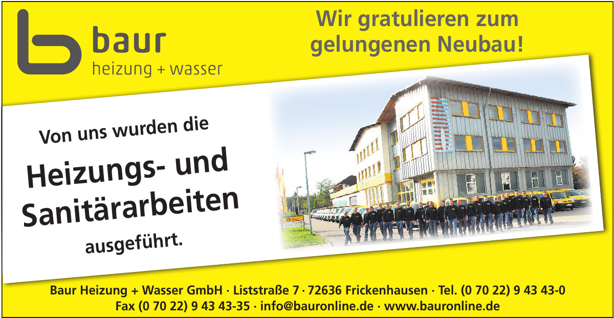 Baur Heizung + Wasser GmbH