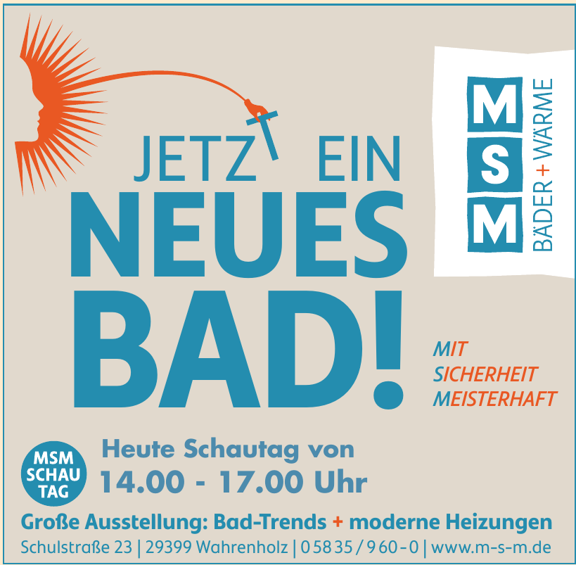 M S M Bäder + Wärme GmbH
