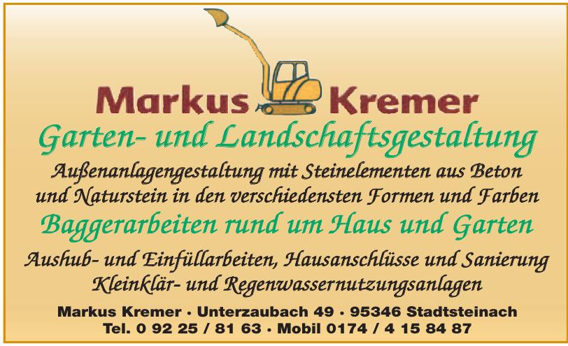 Markus Kremer Garten- und Landschhaftsgestaltung