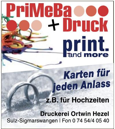 Druckerei Ortwin Hezel