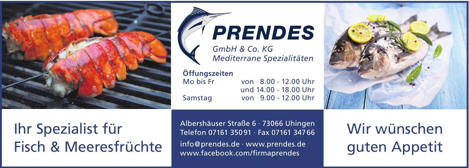 Prendes GmbH & Co. KG · Mediterrane Spezialitäten