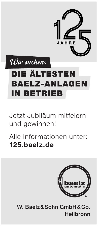 W.Baelz & Sohn GmbH & Co.