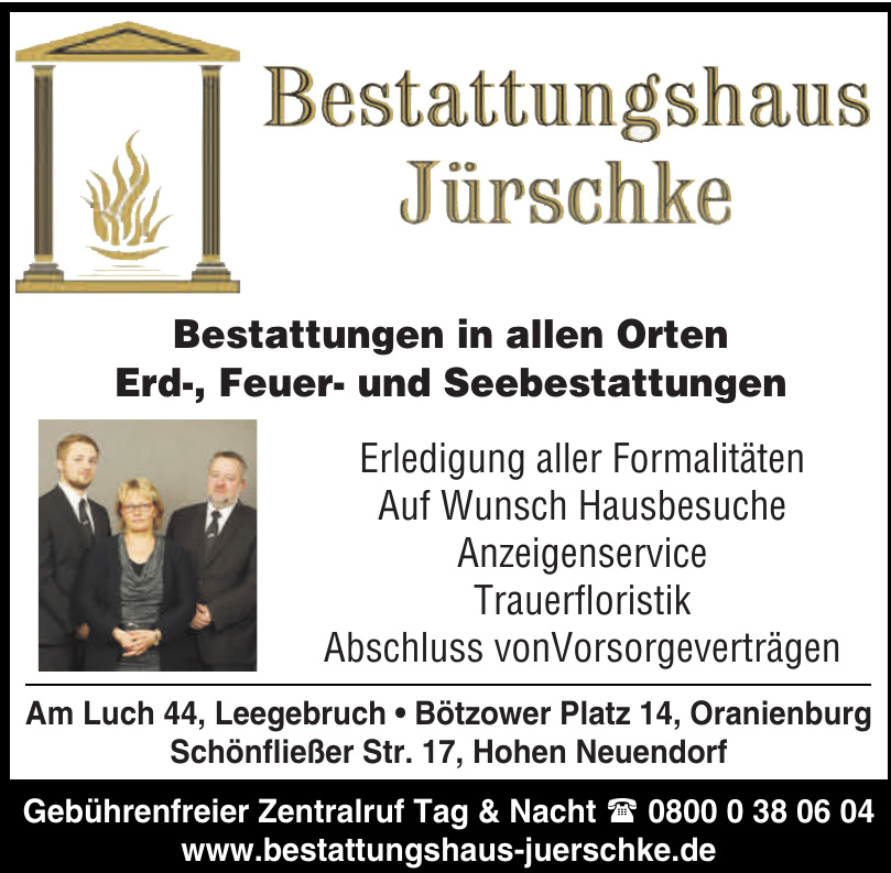 Bestattungshaus Jürschke