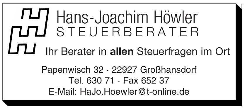 Hans-Joachim Höwler Steuerberater