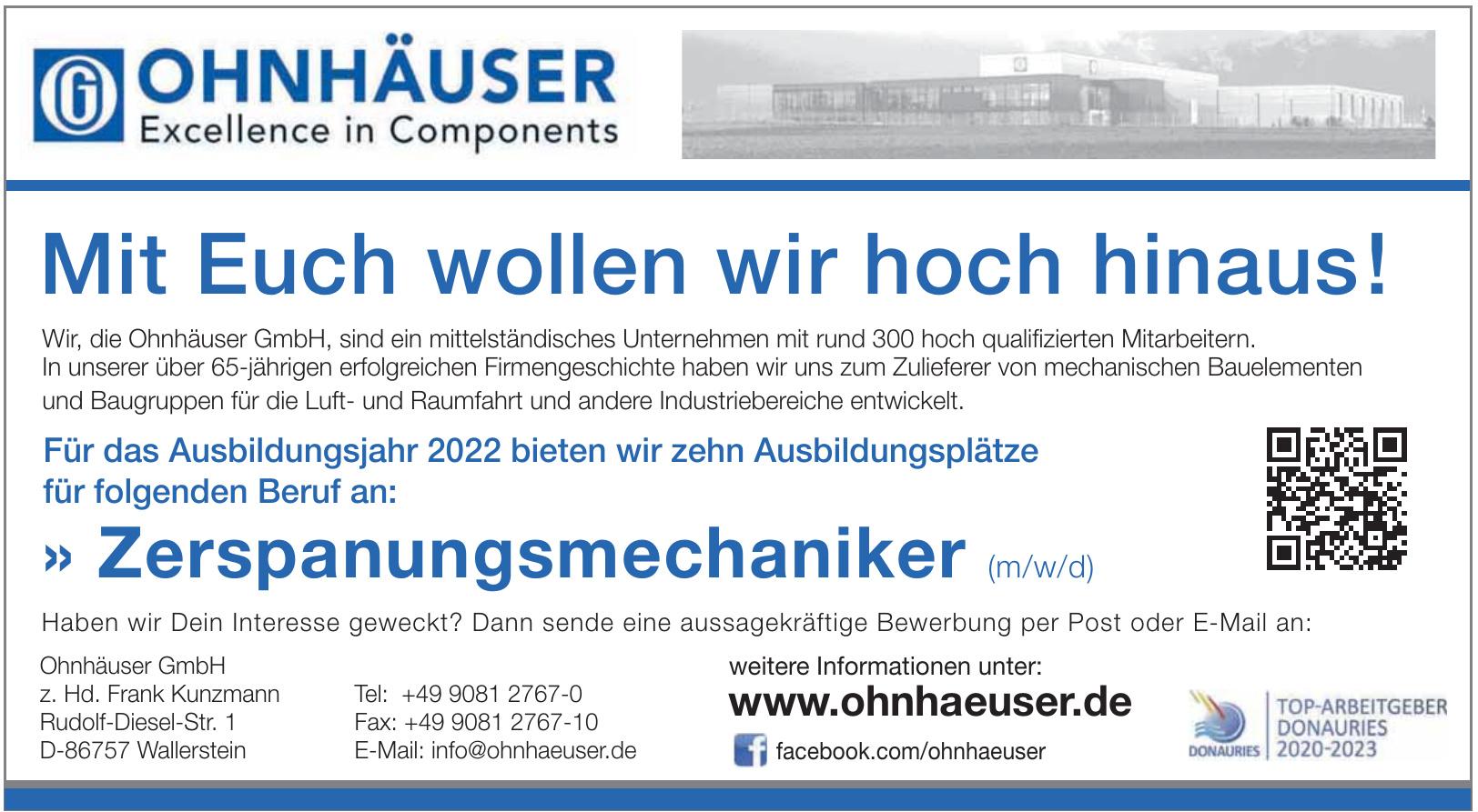 Ohnhäuser GmbH