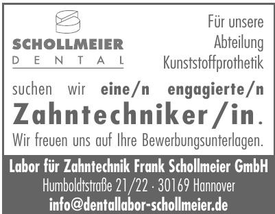 Labor für Zahntechnik Frank Schollmeier GmbH