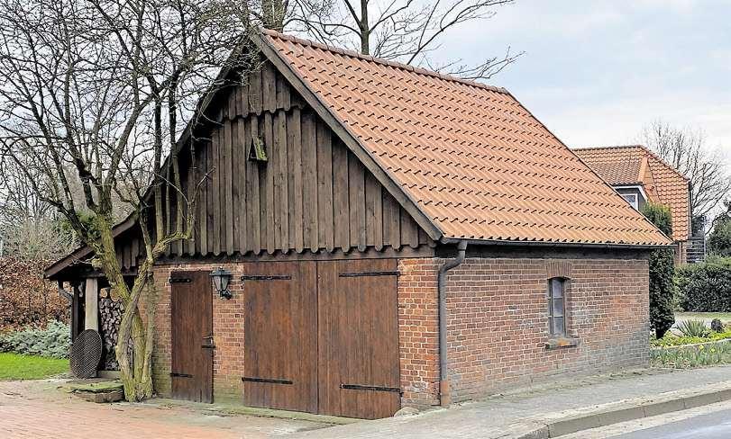Das alte Spritzenhaus aus dem Gründungsjahr 1921.
