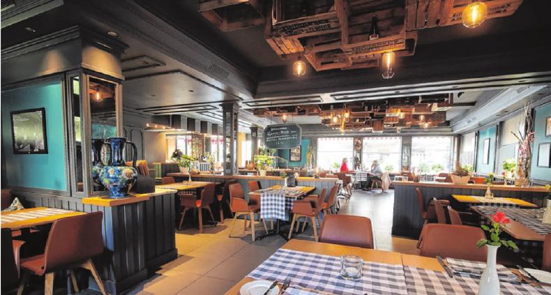 Eine feste Größe in der Stadt Bad Urach: Das Hotel-Restaurant Buck ist bekannt für seine schwäbisch-herzliche Gastlichkeit. Foto: Thomas Kiehl
