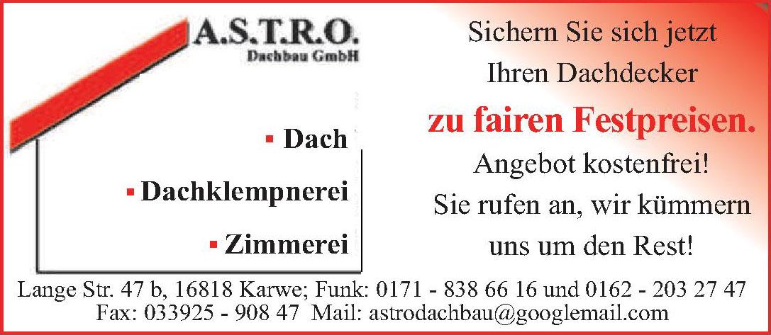 A.S.T.R.O. Dachbau GmbH