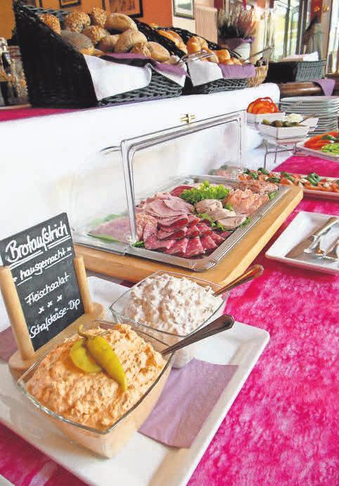 Ein Foto aus anderen Tagen: Das beliebte Frühstücksbüfett im Classic darf zurzeit nicht aufgetragen werden.