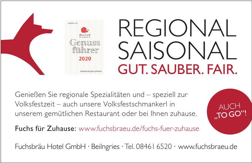 Fuchsbräu Hotel GmbH