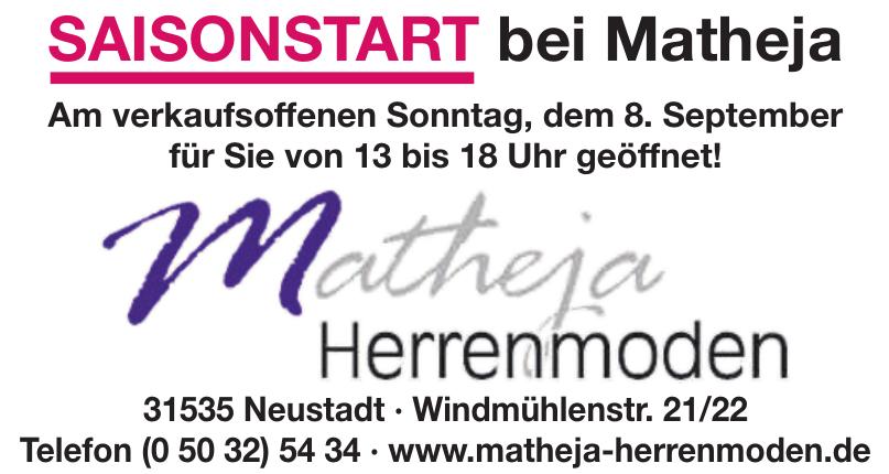 Matheja Herrenmoden