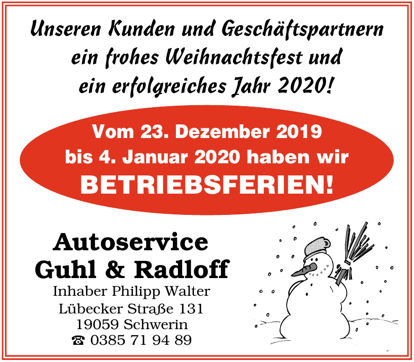 Autoservice Guhl & Radloff