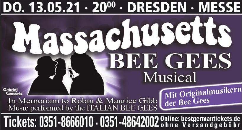Massachusetts Bee Gees Musical