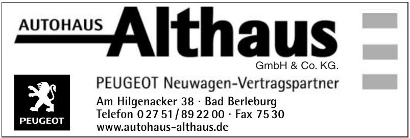 Autohaus Althaus GmbH & Co. KG