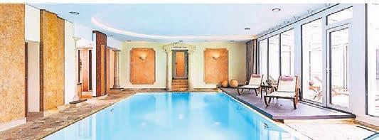 Der Wellnessbereich lädt zur Entspannung ein. Fotos: Hotel Noltmann-Peters