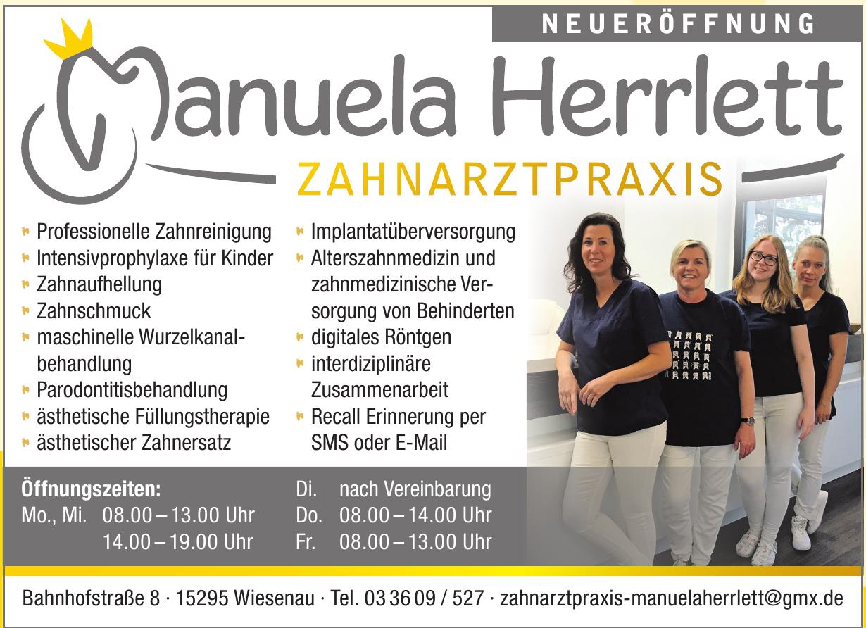 Manuela Herrlet Zahnarztpraxis