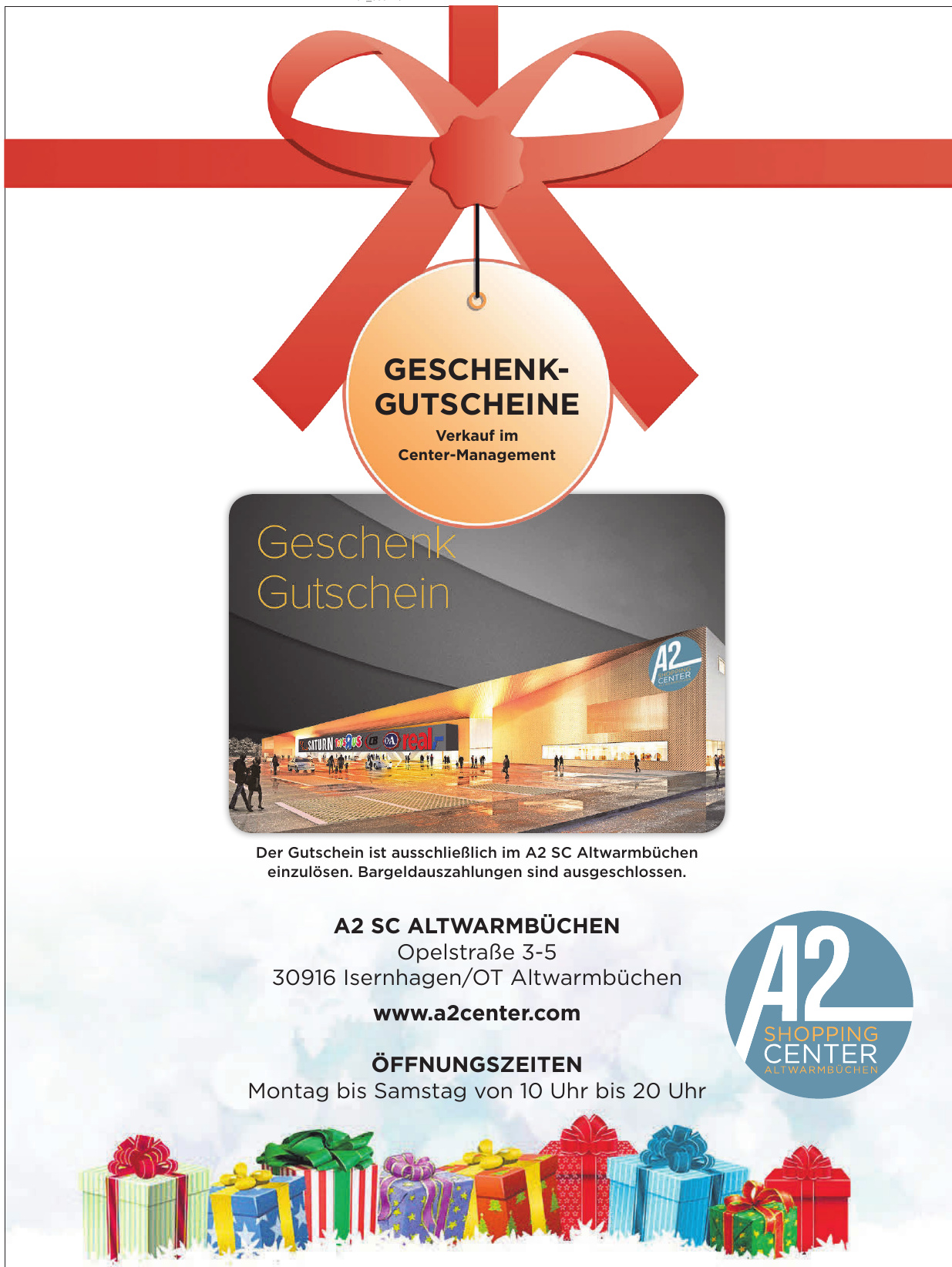 A2 Shoping Center Altwarmbüchen