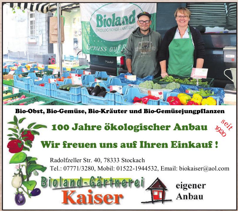 Bioland-Gärtnerei Kaiser