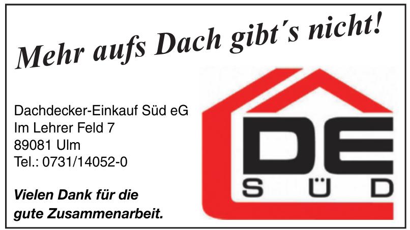Dachdecker-Einkauf Süd eG