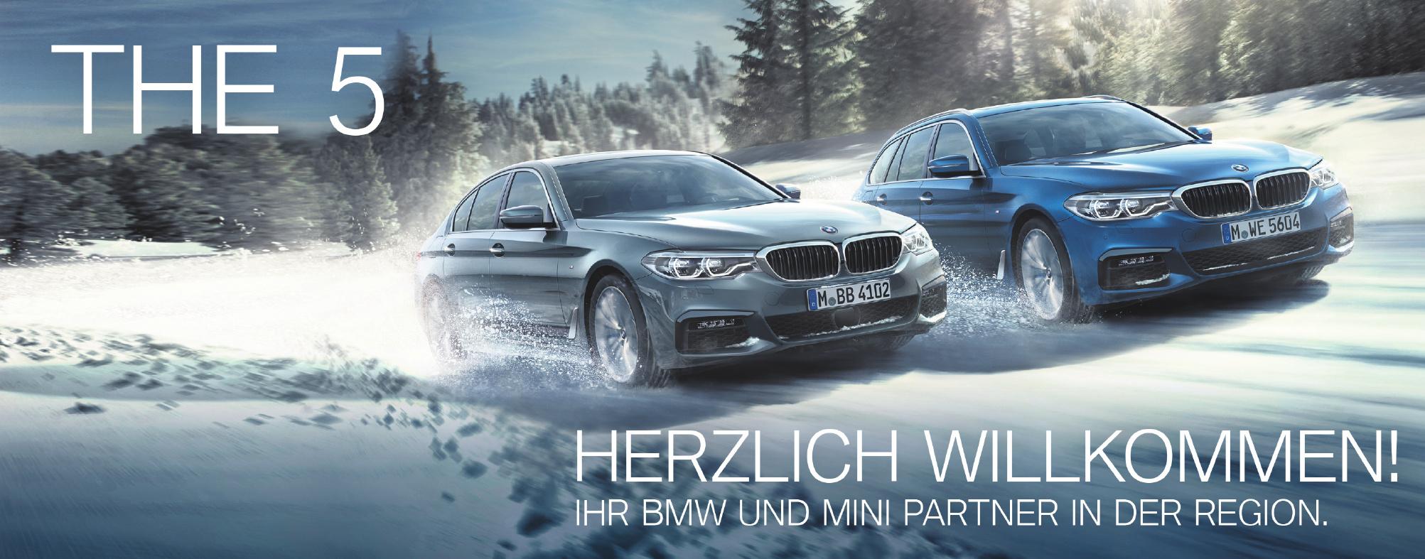 The 5 Ihr BMW und Mini Partner in der Region