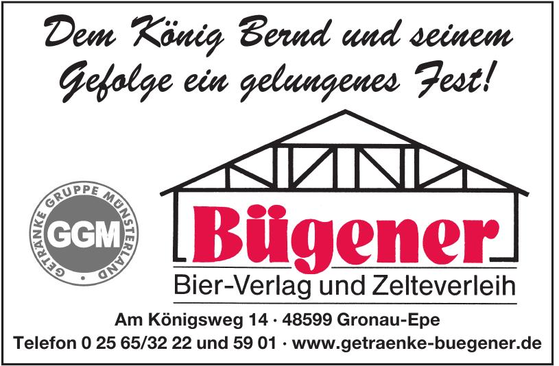 Bügener Bier-Verlag und Zelteverleih