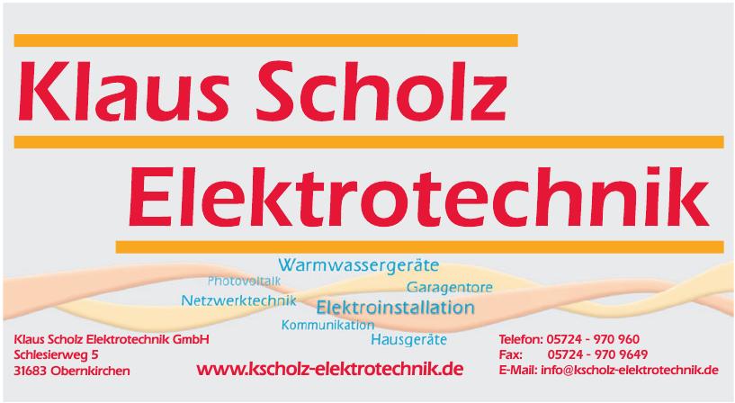Klaus Scholz Elektrotechnik GmbH