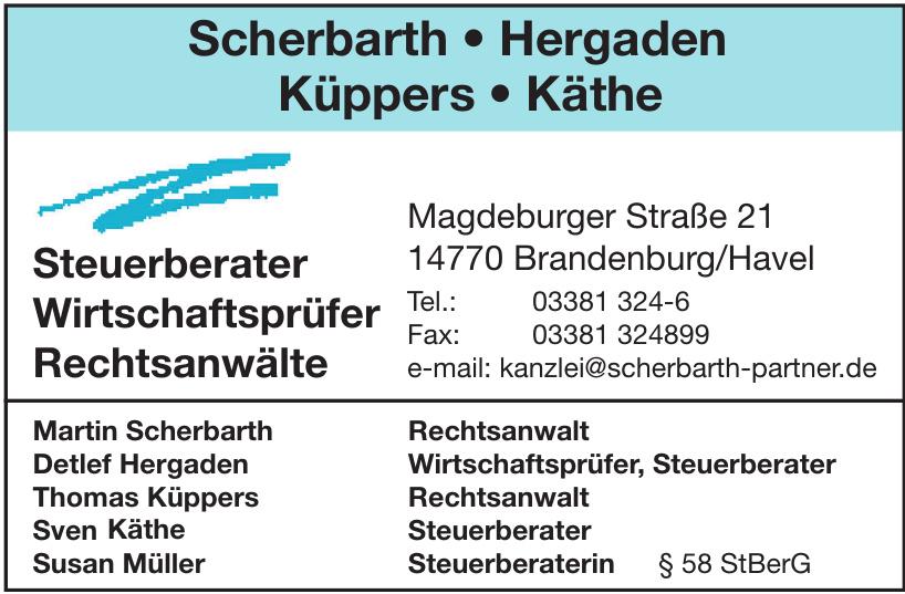 Scherbarth - Hergaden - Küppers - Käthe