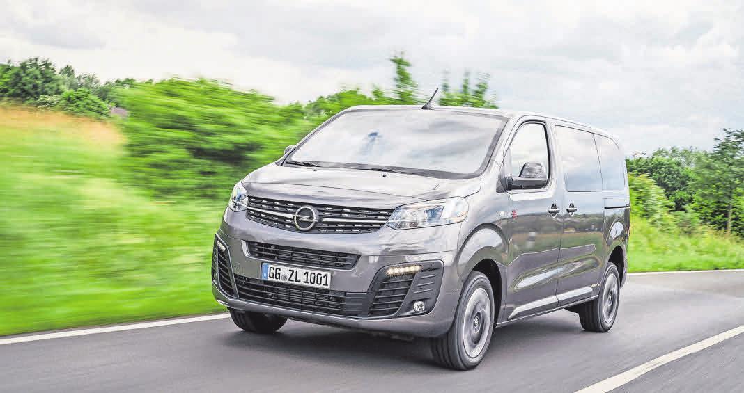 Die nächste Zafira-Generation fährt vor.     Foto: Opel
