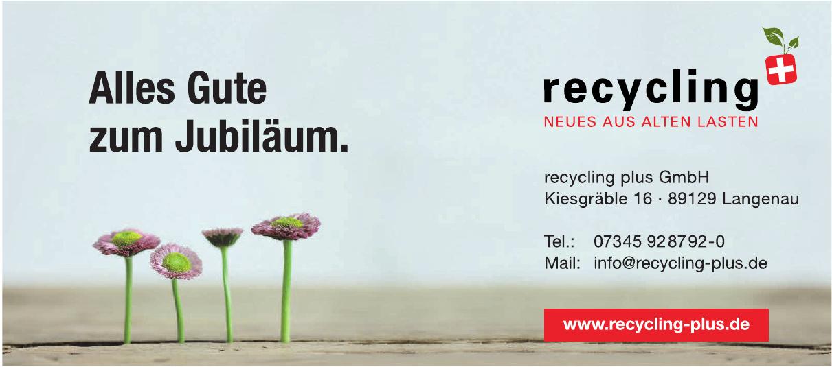 recycling plus GmbH