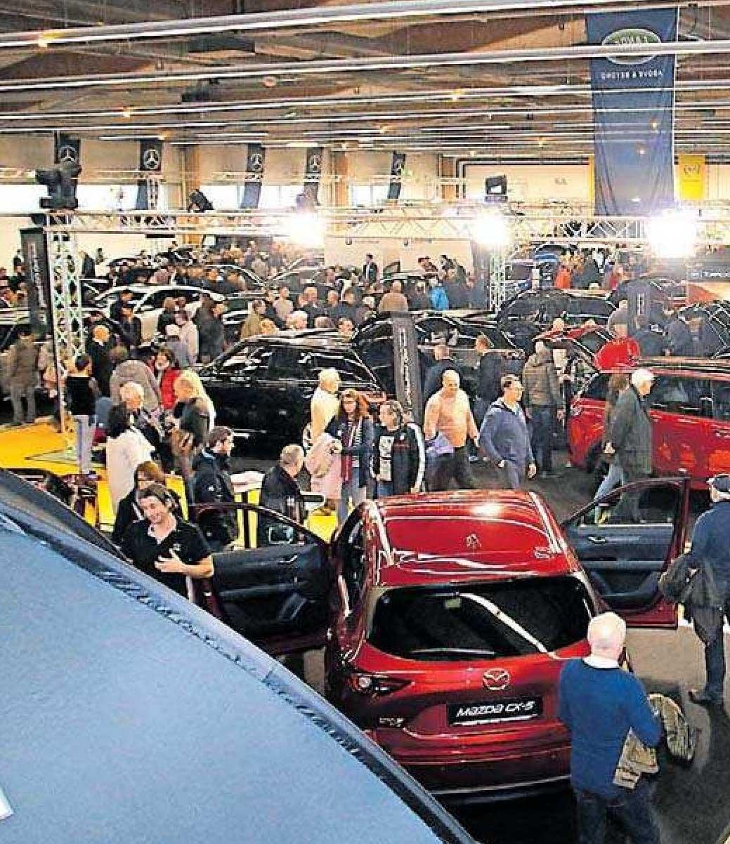 Auf kleinstem Raum finden sich biszu 200 Autos. FOTO: FRITS/FR