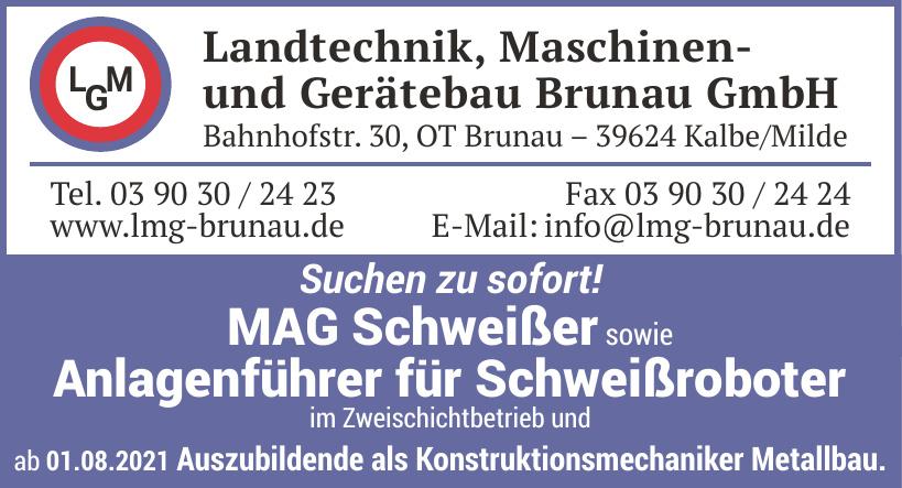Landtechnik, Maschinen- und Gerätebau Brunau GmbH