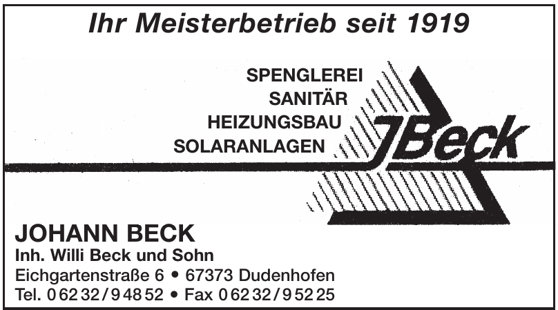 Johann Beck