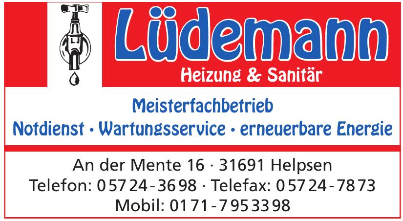 Lüdemann Heizung & Sanitär