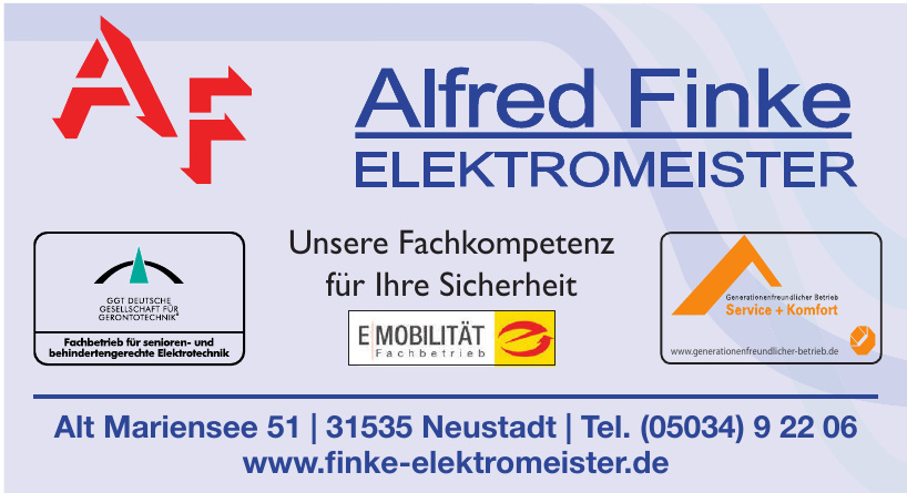 AF Alfred Finke Elektromeister